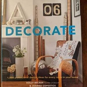 DECORATE coffee table book